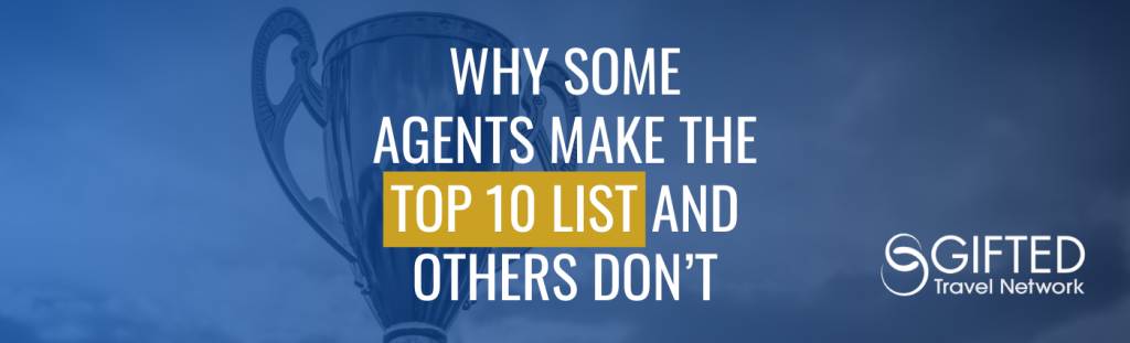 Why Some Agents Make the Top 10 List and Others Don't