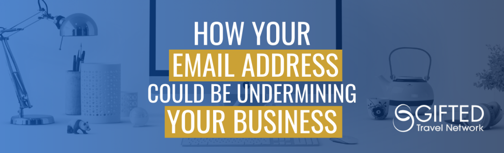 How Your Email Address Could Be undermining Your Business