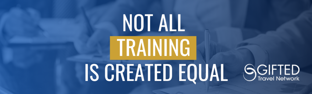 Not All Training is Created Equal