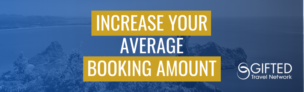 Increase Your Average Booking Amount